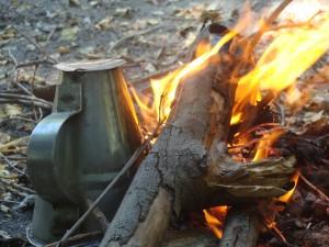 El tacho y el Fuego