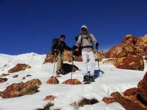 Claudio y Ricardo disfrutando del hikking